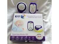 BT baby talk back monitor 300