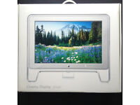"""MINT! Vintage 2003 APPLE Cinema Display 20"""" LCD monitor 1680×1050 widescreen + ADC Connector + boxed"""