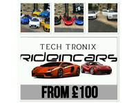 Open Tues From 11 To 7.30,Largest Selection Of Kids-Ride-On Cars, 12v & 24v, Pick-Up From Store