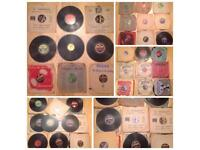 Job lot of 45 78 RPM Records - 1909 onwards