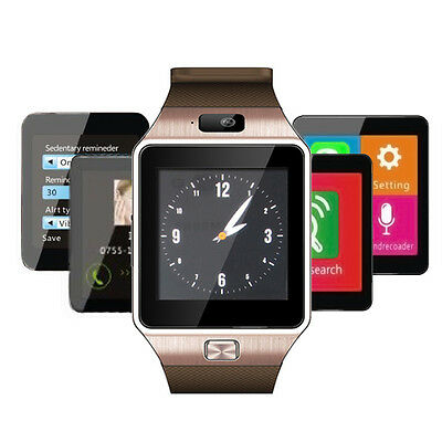 Best Christmas Largesse Bluetooth Wrist Smart Watch Phone For iOS Android LG Samsung