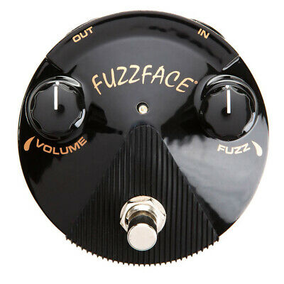OPEN BOX Dunlop Silicon Fuzz Face Mini Blue Pedal FFM1 Spec'd Off 70 Fuzz Face