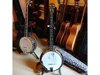 2004 Deering Sierra 5-string banjo for sale, excellent condition and setup