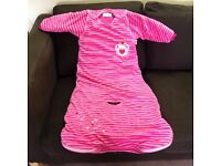 3 Baby Girl Sleeping Bags – 18-36 Months – Good Condition