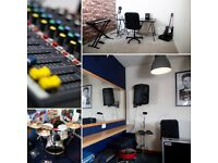Soundproofed Music Rehearsal Studio/ Band Practice Room to Rent. Heaton Newcastle NE6 5XB