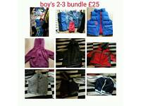 Boys age 2-3 bundle