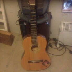 6-string acoustic guitar