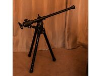 Benbo Tripod with Manfrotto ball and socket head and four quickfix camera attachments