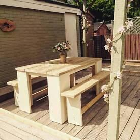 Handmade garden or indoor furniture