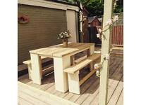 Handmade garden or indoor furniture