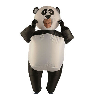 Inflatable Panda Costume Adult Child Jumpsuit Halloween Party Fancy Dress - Baby Panda Costumes Halloween