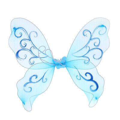 Fee und Engel Schmetterling Flügel für Kinder Fairy Princess Parties Dress ()