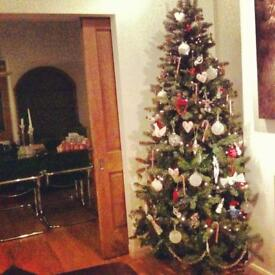 Christmas tree - artificial Argos 7ft tree good condition