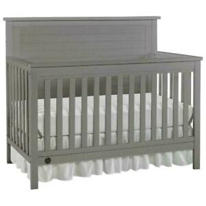 Fisher Price 13120153 Lucas 4-in-1 Convertible Crib - Wire Brushed Grey (New other)