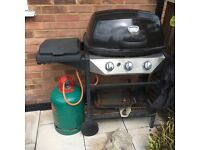 Gas Barbique for sale without gas bottle. Little used Good condition.