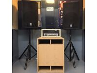 THE MIGHTY GMSN! PA IS FOR SALE INCLUDING THE EARTH SHATTERING X1 1000W SUB £950