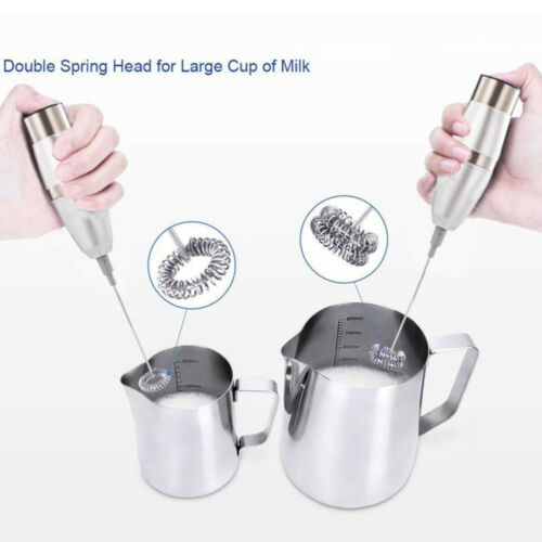 Milk Frother Handheld Battery-Operated Electric Foam Maker S