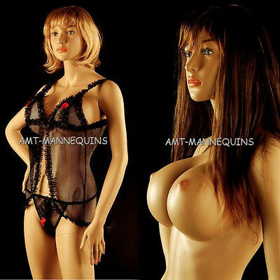 Female Mannequin Stand Full Body Sexy Girl Handmade Beautiful Manikin1wig