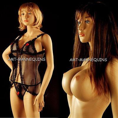 Female Mannequin Sexymannequinstand Full Body Handmade Manikin-sheila1wig