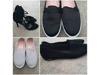 Women's shoes x4 brand new size 6 rrp £100+