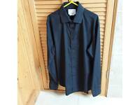Man's shirt black size 16