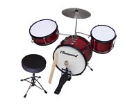 John Lewis Children's Professional Drum Kit + Stool