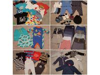9-12 month old size boys clothes £15