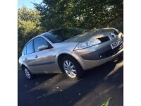 RENAULT MEGANE 1.5 DCI DYNAMIQUE 4 DOOR SALOON 94000 MILES WITH A FULL SERVICE HISTORY 10 MONTHS MOT