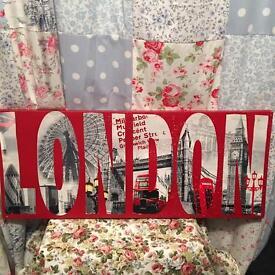 Long London canvas