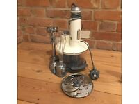 Kenwood food processor (small) with detachable handheld whisk, pulper etc