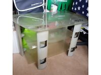 Glass TV stand ,