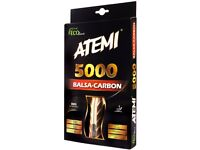 Atemi 5000 Balsa Carbon Pro Table Tennis Bats (Concave & Anatomic handles available) - ITTF Approved