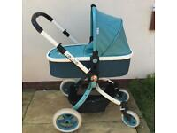 Cosatto Ooba Travel System And Pram in Duck Egg Blue