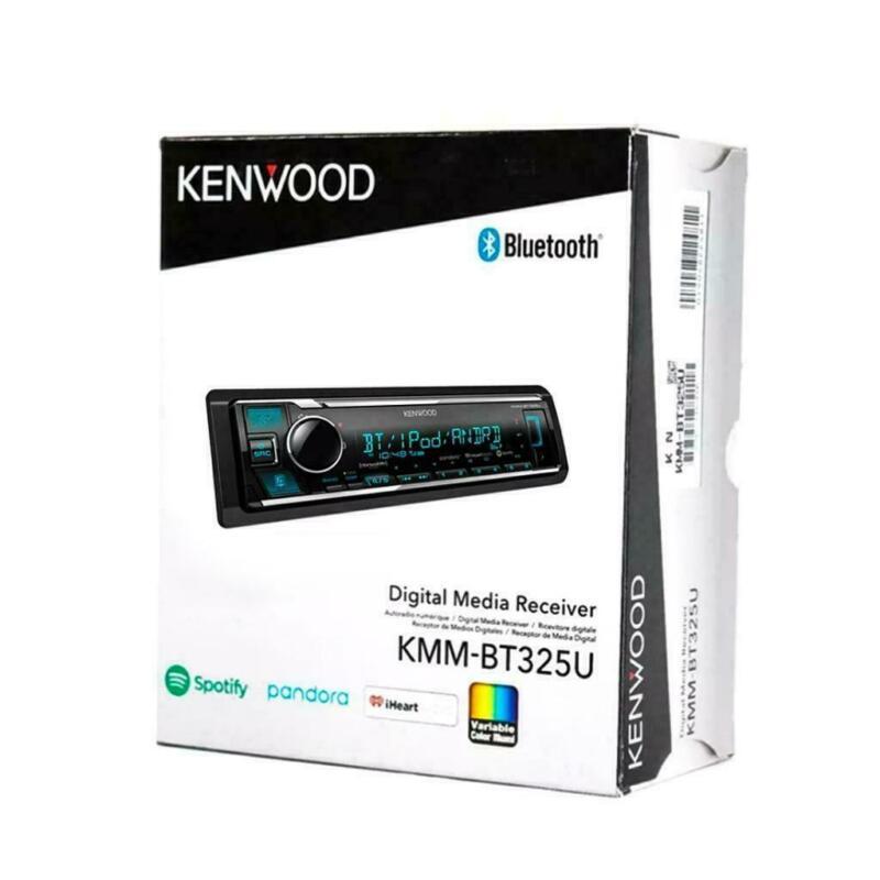 Kenwood KMM-BT325U MP3/WMA Car Stereo Player Bluetooth USB Sirius XM Pandora