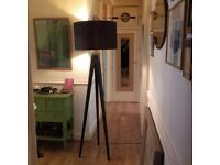 HABITAT tripod floor lamp