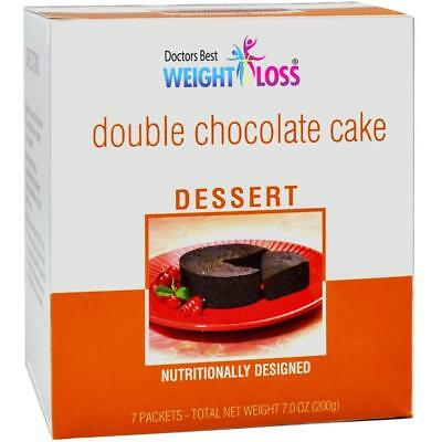 Doctors Best Diet - Double Chocolate Cake | High Protein High Fiber Low