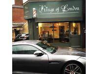 Kings of London need weekend staff