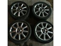Vauxhall corsa exclusiv alloy wheels
