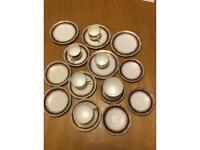Salisbury bone China plates and tea cups
