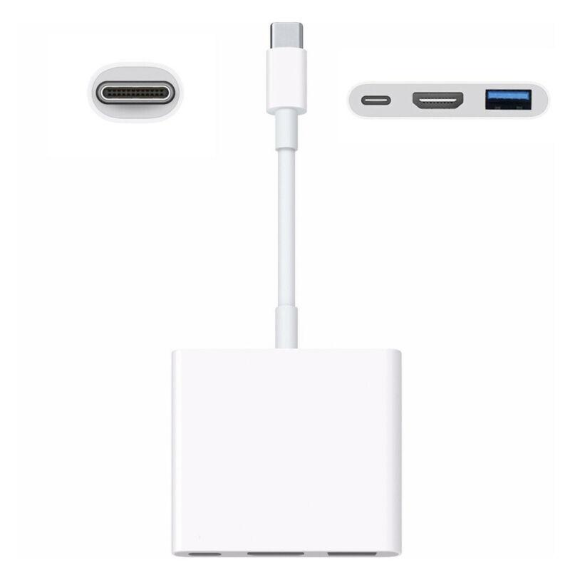 Gen uine For Apple USB-C Digital AV Multiport Adapter MJ1K2A