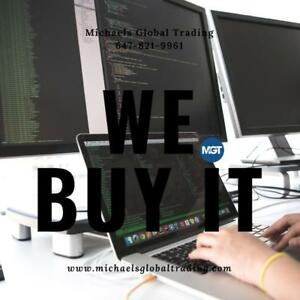 WANTED : We Buy All New & Used Electronics & Networking Equipment