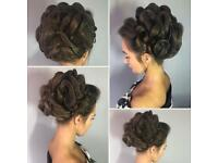 Bridal hair / wedding hair specialist