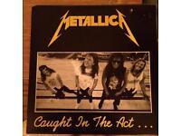Metallica vinyl live lp