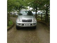 TOYOTA LAND CRUISER 2005. Mot till November taxed till end of June 200 107 miles on the clock