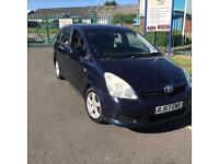 Toyota Corolla Verso 2.2 D-4D TR MPV 5dr Diesel Manual 2007 57 PLATE