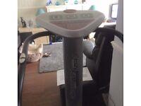 crazy fit vibration plate exercise machine.