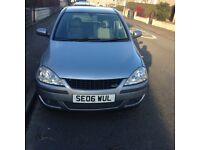 Urgently need to sell my 2006 plate Vauxhall corsa