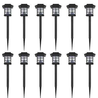 vidaXL 12x Luce Solare LED per Esterni con Picchetto Lampada Esterni Lanterna