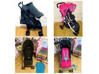 **** SALE **** Pushchairs only £30 each!
