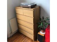 Ikea Malm 6 drawers